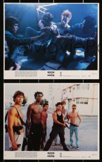9a065 BAND OF THE HAND 8 8x10 mini LCs 1986 Paul Michael Glaser, Stephen Lang, Lauren Holly!