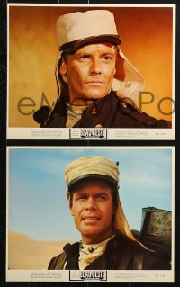 9a066 BEAU GESTE 8 color 8x10 stills 1966 Guy Stockwell, Doug McClure in French Foreign Legion