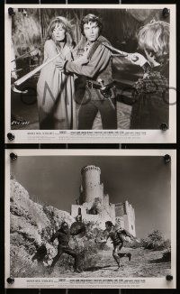 9a009 CAMELOT 49 8x10 stills 1968 Richard Harris as King Arthur, Vanessa Redgrave, MANY images!