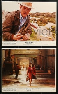 9a069 CANNERY ROW 8 8x10 mini LCs 1982 Nick Nolte, Debra Winger, based on John Steinbeck books!