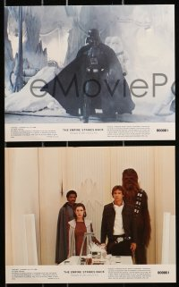 9a080 EMPIRE STRIKES BACK 8 8x10 mini LCs 1980 George Lucas classic, cool images w/slugs!