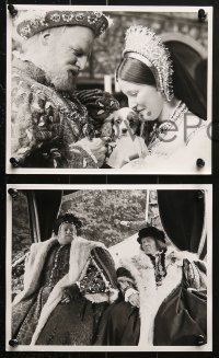 9a020 HENRY VIII & HIS SIX WIVES 37 8x10 stills 1972 Michell in title role, Charlotte Rampling!
