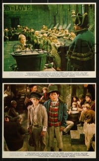 9a051 OLIVER 12 color 8x10 stills 1969 Dickens, Mark Lester in title role & Ron Moody as Fagin!