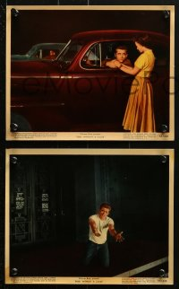 9a062 REBEL WITHOUT A CAUSE 9 color 8x10 stills 1955 Nicholas Ray, James Dean, Natalie Wood, Backus!