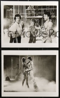 9a006 STAYING ALIVE 56 8x10 stills 1983 director Stallone, Travolta in Saturday Night Fever sequel!