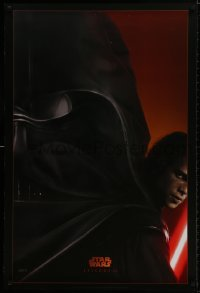 9g863 REVENGE OF THE SITH style A teaser DS 1sh 2005 Star Wars Episode III, Christensen as Vader!