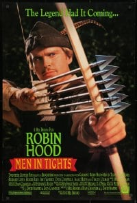 9g865 ROBIN HOOD: MEN IN TIGHTS DS 1sh 1993 Mel Brooks directed, Cary Elwes in the title role!