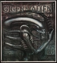 9g220 ALIEN 20x22 special poster 1990s Ridley Scott sci-fi classic, cool H.R. Giger art of monster!