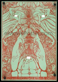 9g107 BEDROCK ONE 14x20 music poster 1967 wild, psychedelic art, Steve Miller Band and more!