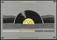 9g180 KUNSTEREIGNISSE AUSSTELLUNG PLAKATE ZUR MUSIK 23x32 East German art exhibition 1985 Fiedler!
