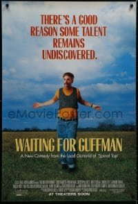 9g977 WAITING FOR GUFFMAN advance 1sh 1996 Christopher Guest, Eugene Levy, Parker Posey, Fred Willard
