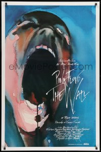 9g979 WALL int'l 1sh 1982 Pink Floyd, Roger Waters, classic Gerald Scarfe rock & roll art!
