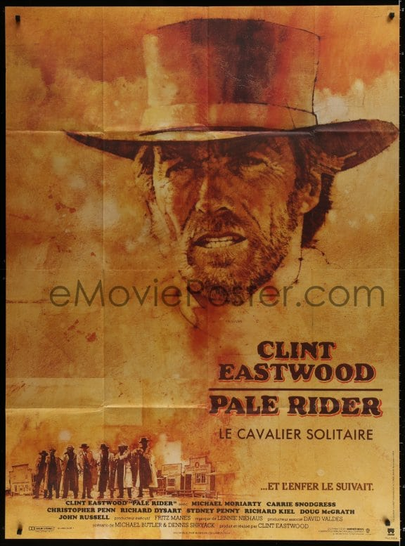 eMoviePoster com: 9j914 PALE RIDER French 1p 1985 great