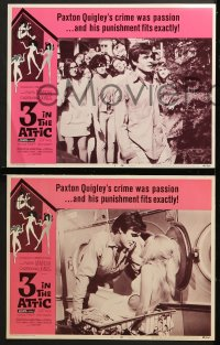 9k039 3 IN THE ATTIC 8 LCs 1968 AIP, great images of Yvette Mimieux, Christopher Jones!