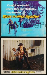 9k027 ESCAPE TO WITCH MOUNTAIN 9 LCs 1975 Disney, Eddie Albert, Ray Milland, Donald Pleasance!