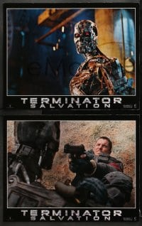 9k006 TERMINATOR SALVATION 12 LCs 2009 Christian Bale, Sam Worthington, cool sci-fi images!