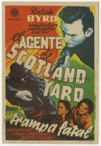 9m103 BLAKE OF SCOTLAND YARD part 2 Spanish herald 1947 Ralph Byrd, serial, different art!