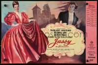 9m025 JASSY English trade ad 1948 art of Margaret Lockwood in the title role & Dennis Price!