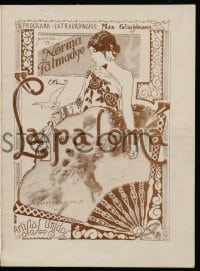 9m010 DOVE Uruguayan herald 1927 different Colinet art of sexy cabaret dancer Norma Talmadge!