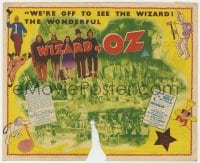 9m002 WIZARD OF OZ Australian herald 1940 biggest screen sensation since Snow White, ultra rare & different!