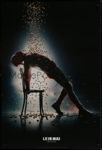 9t011 DEADPOOL 2 style C teaser DS Canadian 1sh 2018 Reynolds, wacky parody image from Flashdance!