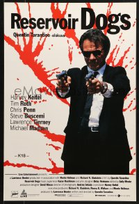 9t002 RESERVOIR DOGS Finnish 1993 Tarantino, different image of Harvey Keitel as Mr. White!