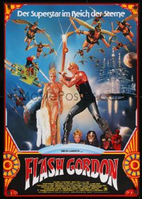 9t073 FLASH GORDON German 1981 Mike Hodges, different art of Sam Jones & sexy Ornella Muti!