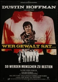 9t079 STRAW DOGS German 1972 directed by Sam Peckinpah, Dustin Hoffman, cool different image!