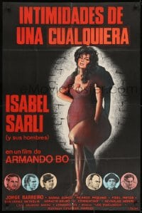 9t030 INTIMACIES OF A PROSTITUTE Spanish 1979 great completely different art of sexy Isabel Sarli!
