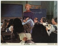 9y765 PRIME OF MISS JEAN BRODIE color 11x14 still 1969 teacher Maggie Smith in classroom!