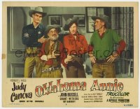 9y736 OKLAHOMA ANNIE LC #8 1951 Queen of the Cowgirls Judy Canova & sheriff John Russell by jail!