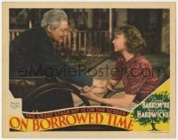9y739 ON BORROWED TIME LC 1939 Lionel Barrymore makes a deal with Death to save his grandson!