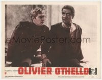 9y744 OTHELLO LC #4 1966 great image of Laurence Olivier in William Shakespeare classic!