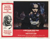 9y760 PLAY IT AS IT LAYS LC #2 1972 Tuesday Weld on projector screen, directed by Frank Perry!