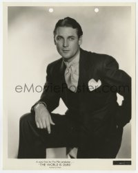 1a177 CHANGE OF HEART 8x10.25 still 1934 full-length posed portrait of Charles Farrell in suit!