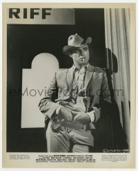 1a183 CHASE 8.25x10 still 1966 best portrait of Marlon Brando smoking with hands in his belt!