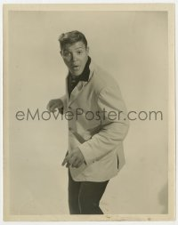 1a188 CHUBBY CHECKER 8x10.25 still 1960s full-length portrait of the Twist singer!