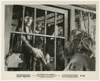 1a212 CURSE OF THE WEREWOLF 8.25x10 still 1961 Loraine Carvana gives food to Richard Wordsworth!