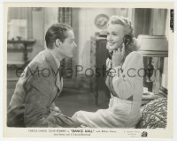 1a213 DANCE HALL 8x9.75 still 1941 William Henry stares at happy Carole Landis talking on phone!