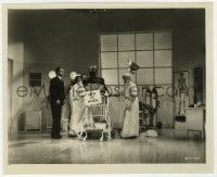 1a222 DAY AT THE RACES 8.25x10 still 1937 wacky Chico & Harpo Marx in operating room w/ Sig Ruman!