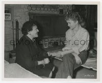 1a229 DEBBIE REYNOLDS/LOUELLA PARSONS 8x10 still 1954 interview for Susan Slept Here by Bachrach!