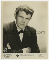 1a231 DEL SHANNON 8.25x10 music publicity still 1966 the rock 'n' roll/country music star at GAC!
