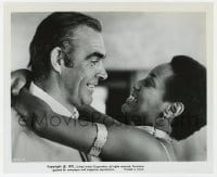 1a240 DIAMONDS ARE FOREVER 8.25x10 still 1971 Sean Connery as Bond & sexy Trina Parks as Thumper!