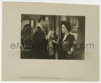 1a242 DICK TRACY 8x10 key book still 1945 Jane Greer with Morgan Conway & young Mickey Kuhn!