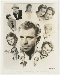 1a956 WESLEY RUGGLES 8.25x10 still 1938 the great director gambles on unknowns, many pictured!