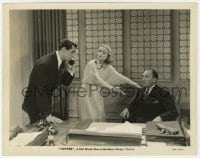 1a895 TOPPER 8x10.25 still 1937 ghosts Constance Bennett & Cary Grant in Roland Young's office!