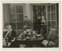 1a904 TWO FOR TONIGHT 8x10 key book still 1935 low billed Thelma Todd smiles at guy in doorway!