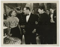 1a960 WHEN STRANGERS MARRY 8x10.25 still 1933 sexiest Lilian Bond watches Jack Holt get arrested!