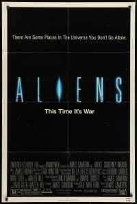1b061 ALIENS 1sh 1986 there are some places in the universe you don't go alone, this time it's war!