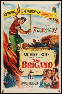 1b162 BRIGAND 1sh 1952 Anthony Dexter, Jody Lawrance, Alexandre Dumas, different images!